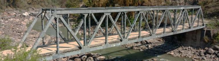 Marsyangdi River Truss Bridge, Bhoteodar, Lamjung