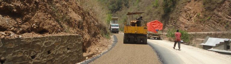 Road Impovement works on Benighat-Janagau-Solomaja Road, Dhading