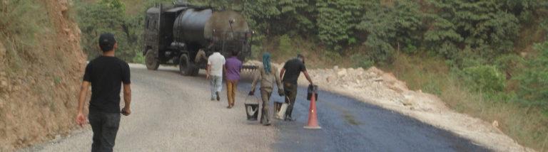 Road Impovement works on Gajuri Sundarnaagi Road, Dhading