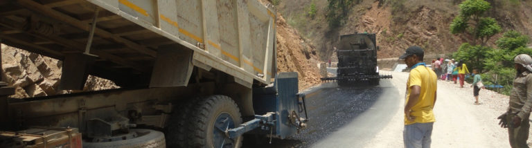 Road Improvement works on Lothar Sydull Shyamrang Charaudi Road, Dhading