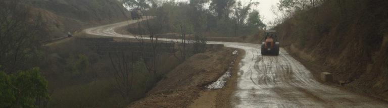 Roadway upgrading works Tulsipur-Purandhara-Botechaur Road, Salyan