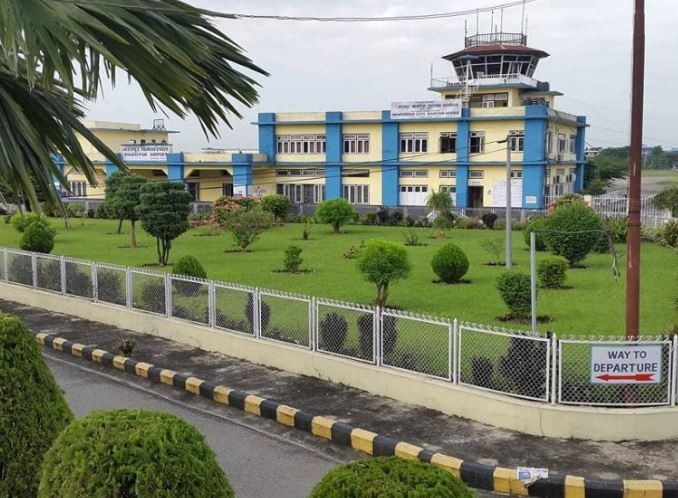 Runway, Taxiway, Parking and Control Tower Construction work at Bhatarpur Airport