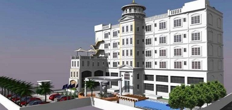 Construction of Hotel Grand City At Birtamod, Jhapa